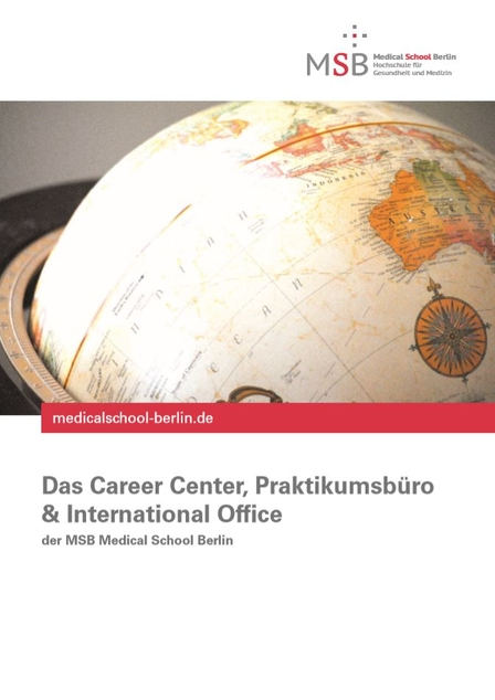 Broschüre: Das International Office und das Career Center der MSB